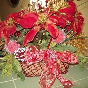 CHRISTMAS BASKET SALE 11X12 homemade